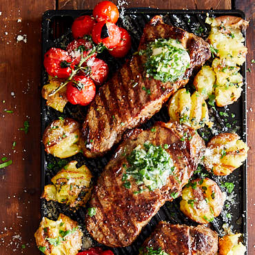 Succulent Broiled Steak