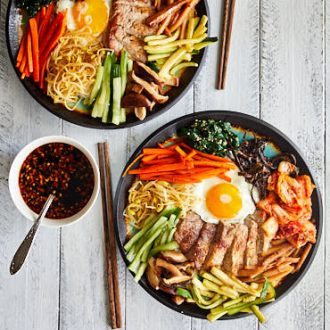 Bibimbap - Korean Mixed Rice - Authentic Recipe | ifoodblogger.com