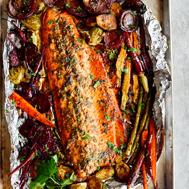 Baked Honey Garlic Steelhead Trout Recipe