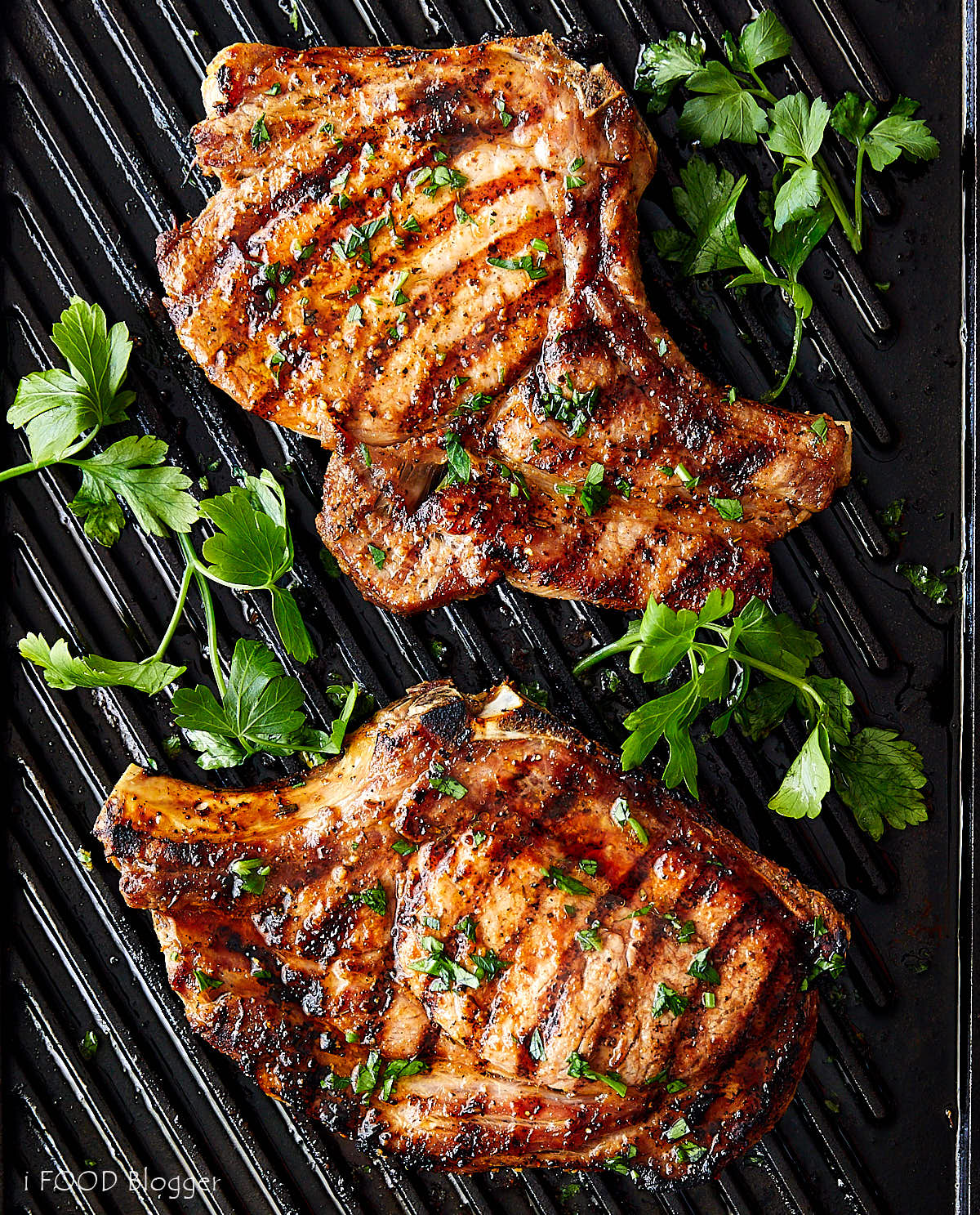 Broiled Pork Chops (with Creole Seasoning)