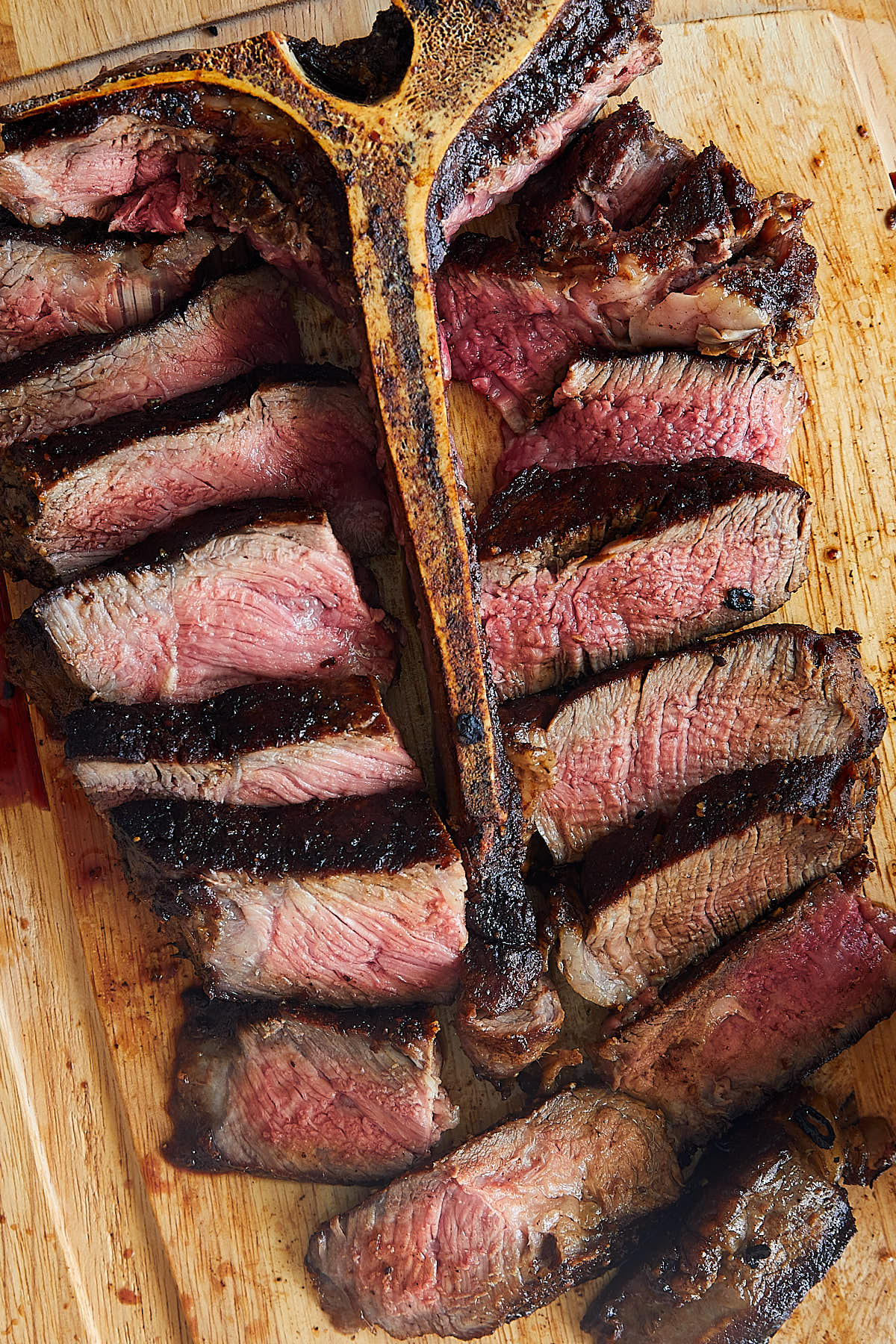 Butter-Basted Porterhouse Steak Recipe | ifoodblogger.com