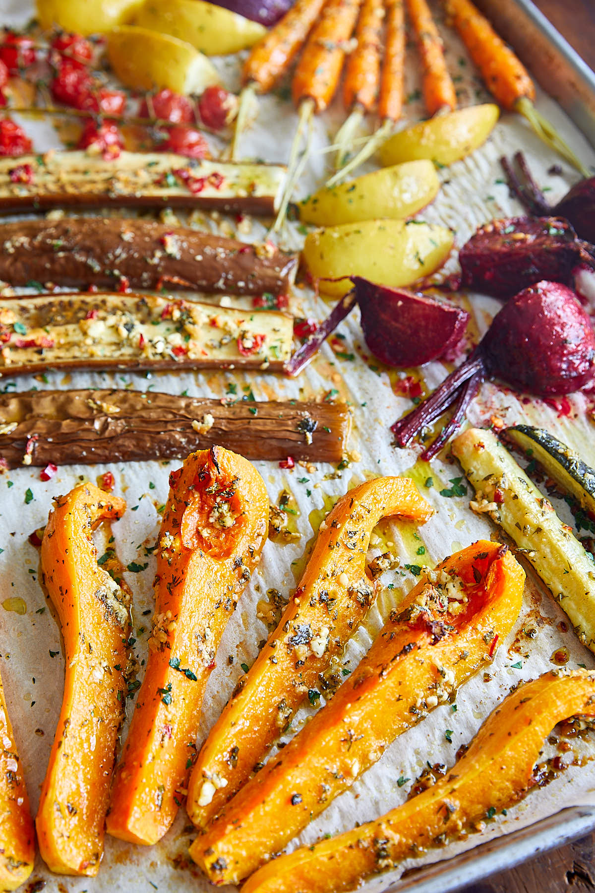 Picky Roasted Vegetables | ifoodblogger.com
