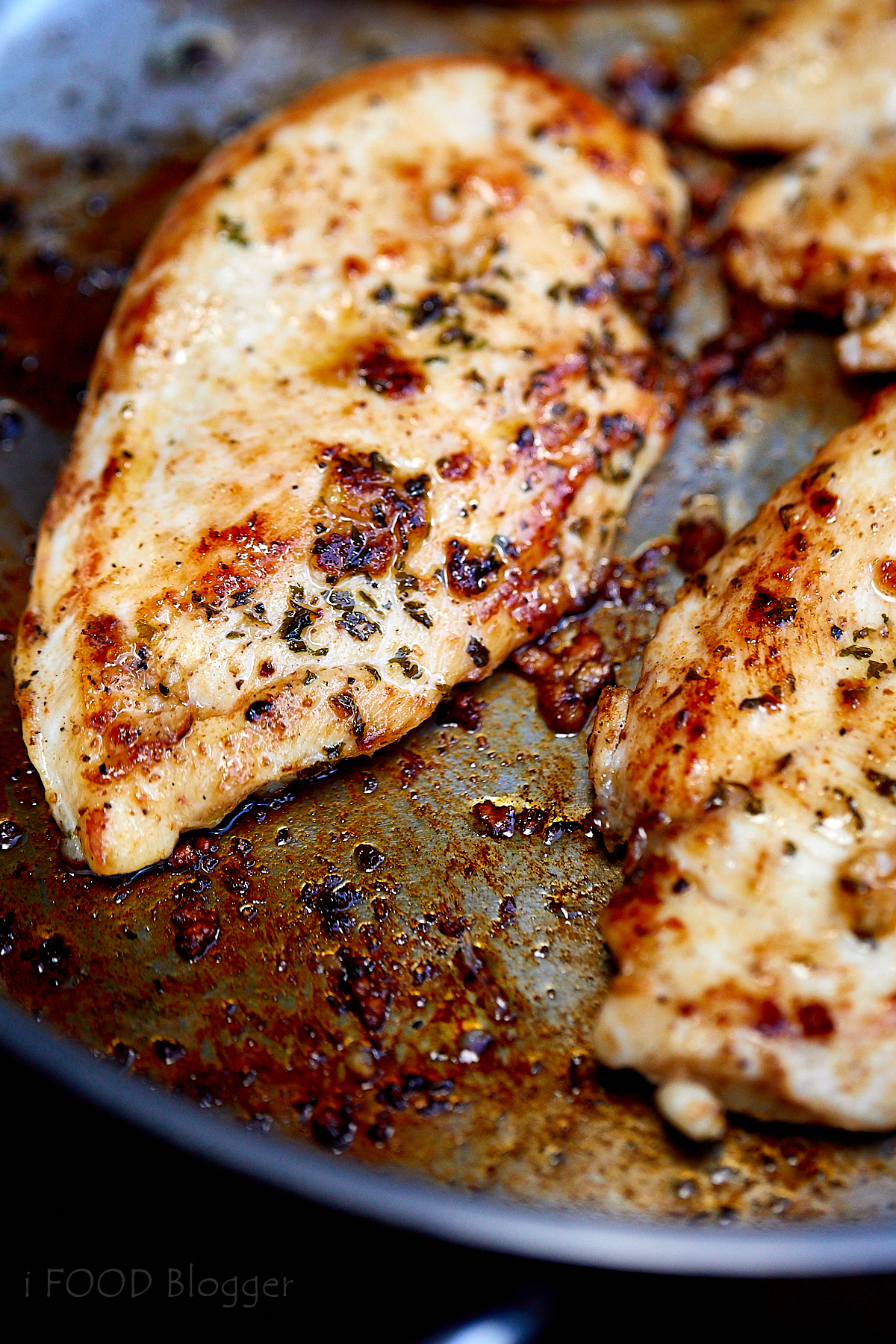 Pan Fried Cajun Chicken - Cooking with Thas - Healthy ... |Pan Cooked Chicken