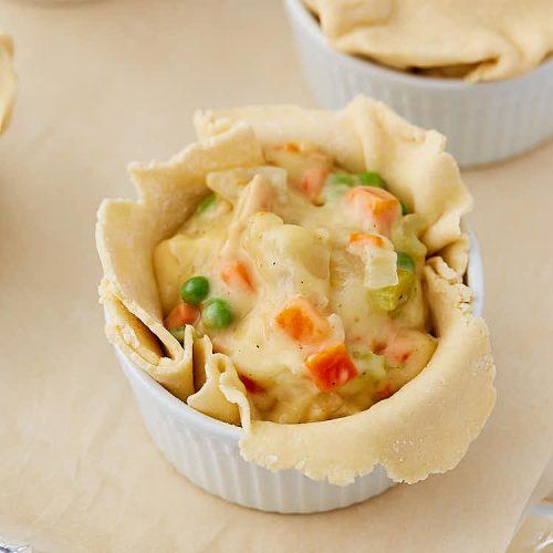 The ultimate homemade chicken pot pie recipe - Preparation Steps.