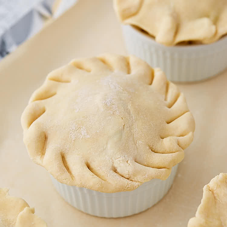 The ultimate homemade chicken pot pie recipe - Preparation Steps.