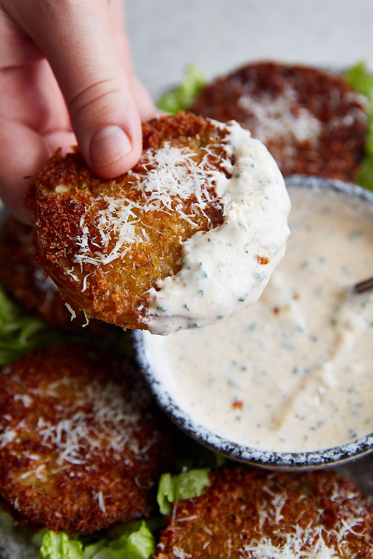 The best and the only ranch dressing recipe you will ever need. | ifoodblogger.com