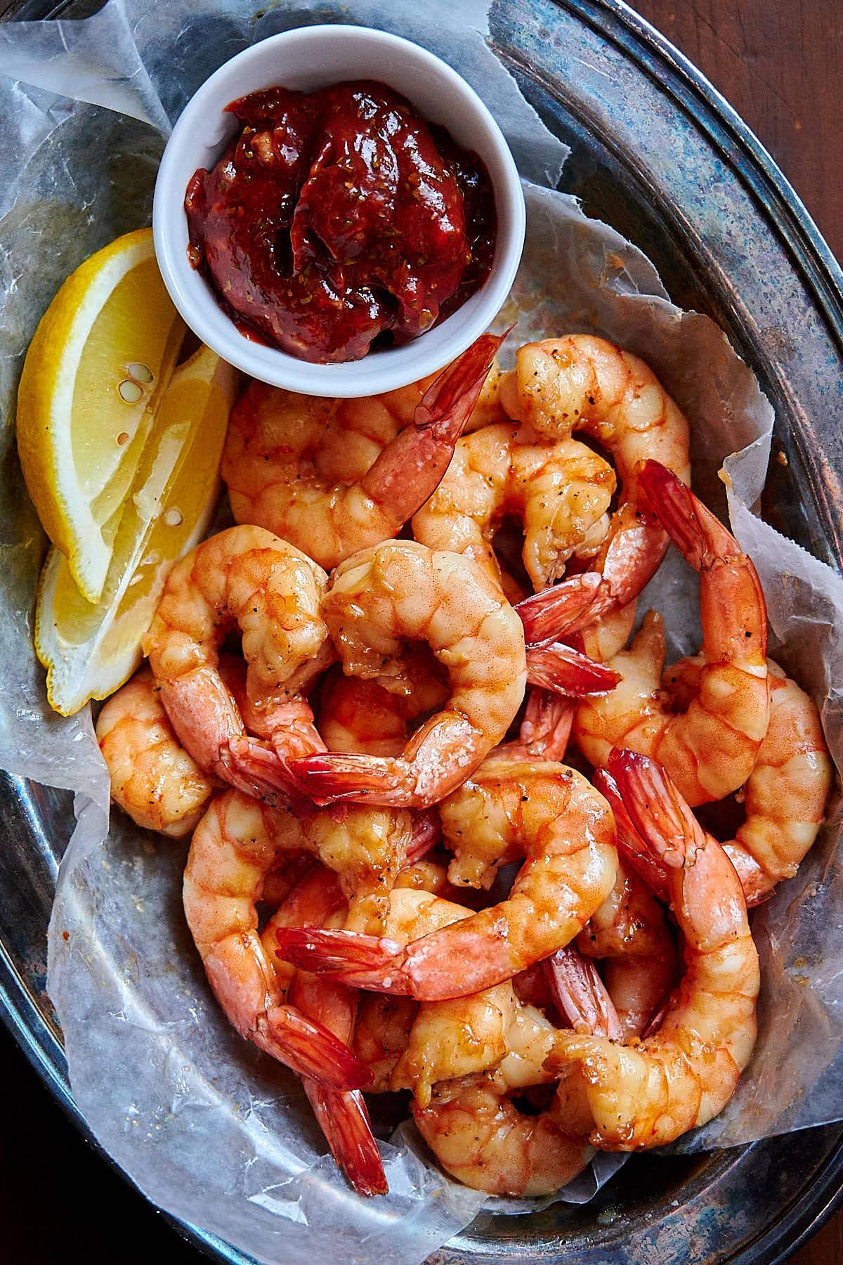 Air Fryer Shrimp Asian Inspired I Food Blogger